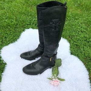 ♥️Authentic tory burch black boots♥️